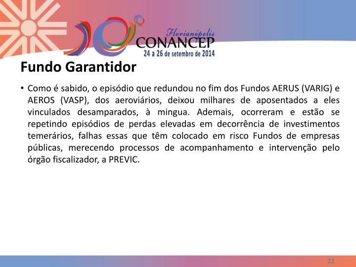 Fundo Garantidor