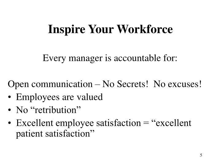 Inspire Your Workforce