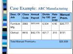 case example abc manufacturing
