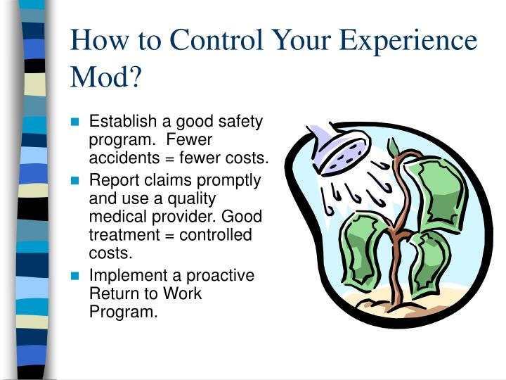 How to Control Your Experience Mod?
