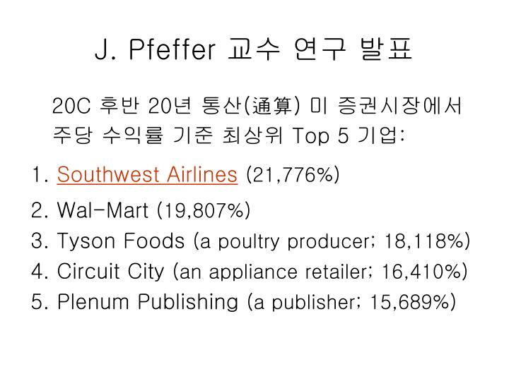 J. Pfeffer