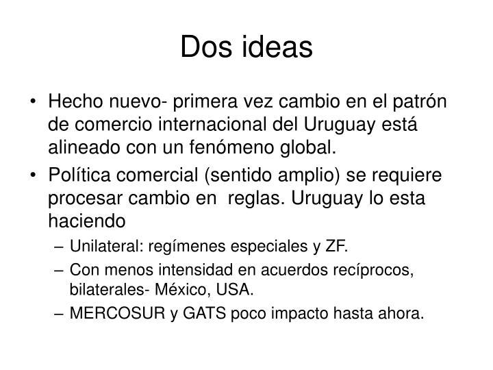 Dos ideas