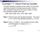example 7 7 home fires by candles