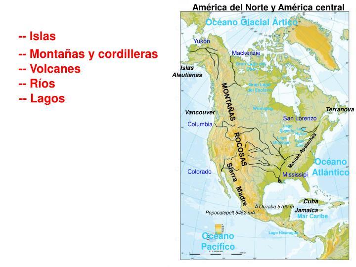 América del Norte y América central