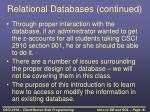 relational databases continued1