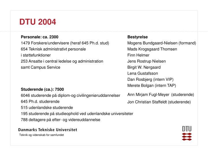 DTU 2004