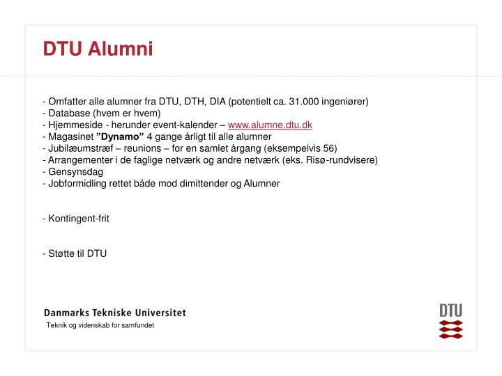 DTU Alumni