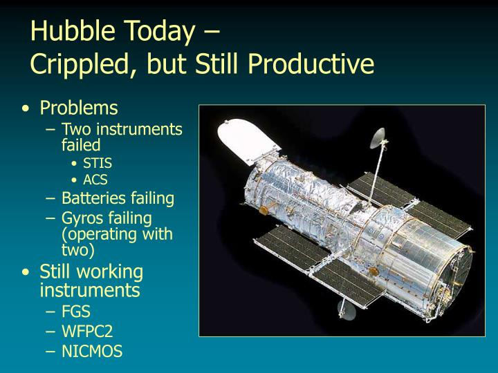 hubble problems - photo #39