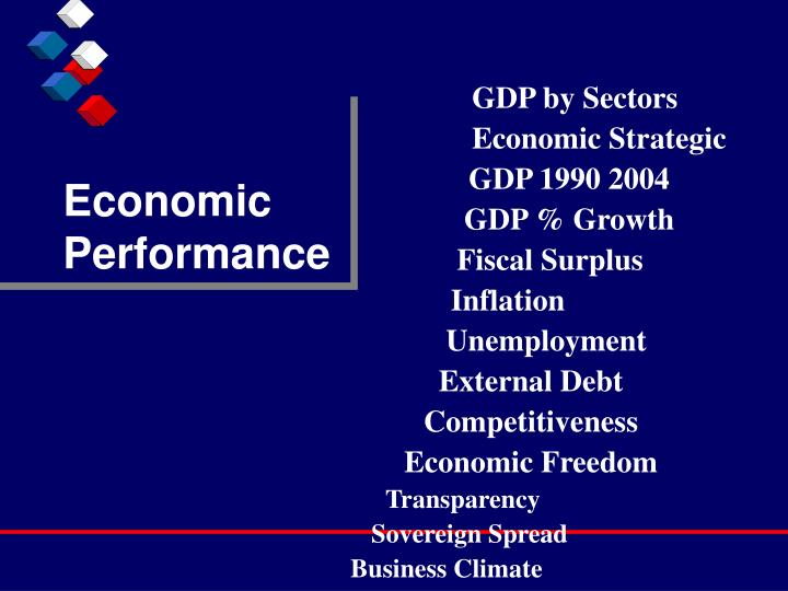 Economic Performance