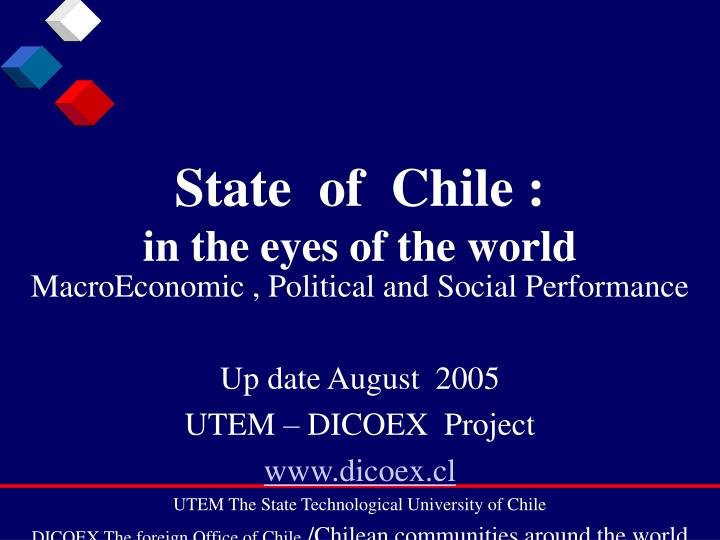State of chile in the eyes of the world