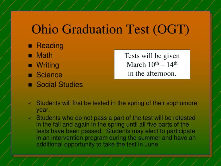Ohio Graduation Test (OGT)