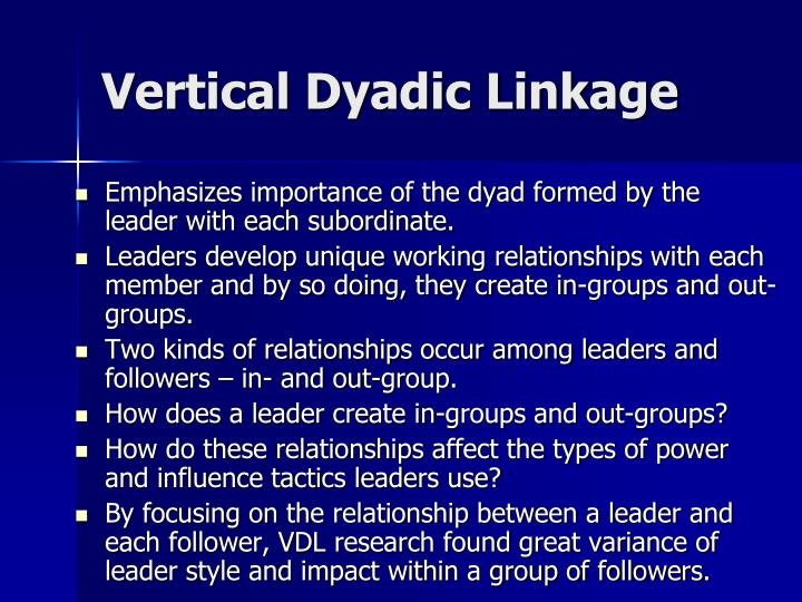 Vertical Dyadic Linkage