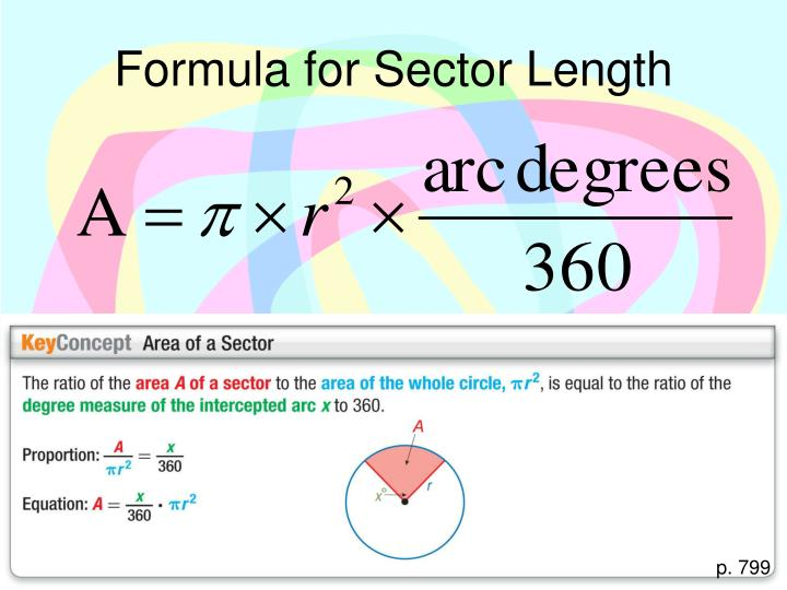 Formula for Sector Length