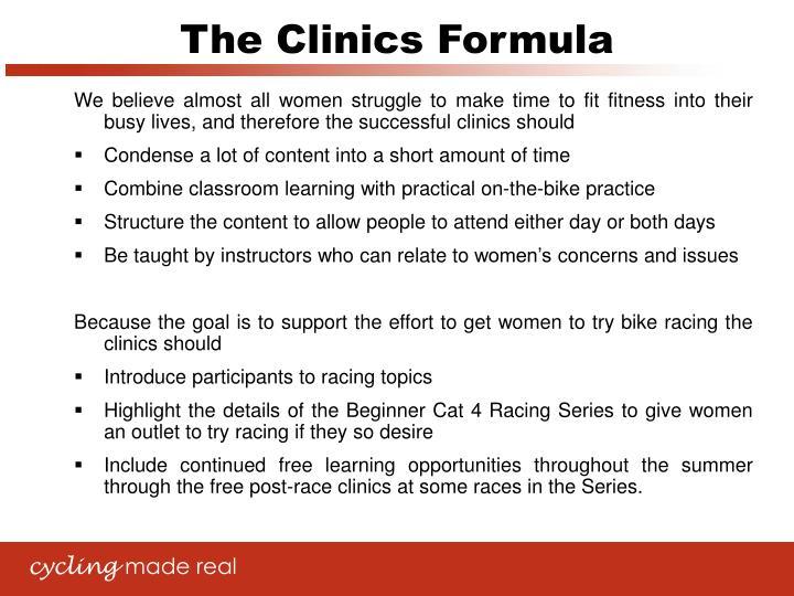The Clinics Formula