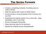 the series formula
