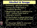 alcohol drugs