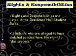 rights responsibilities