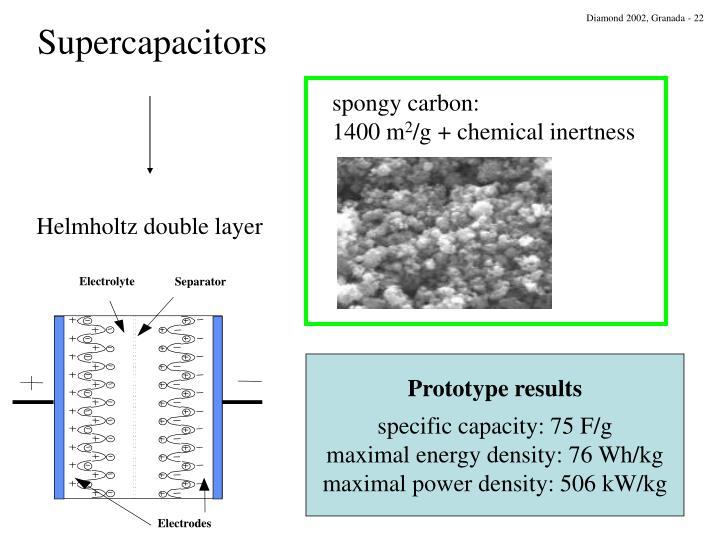spongy carbon: