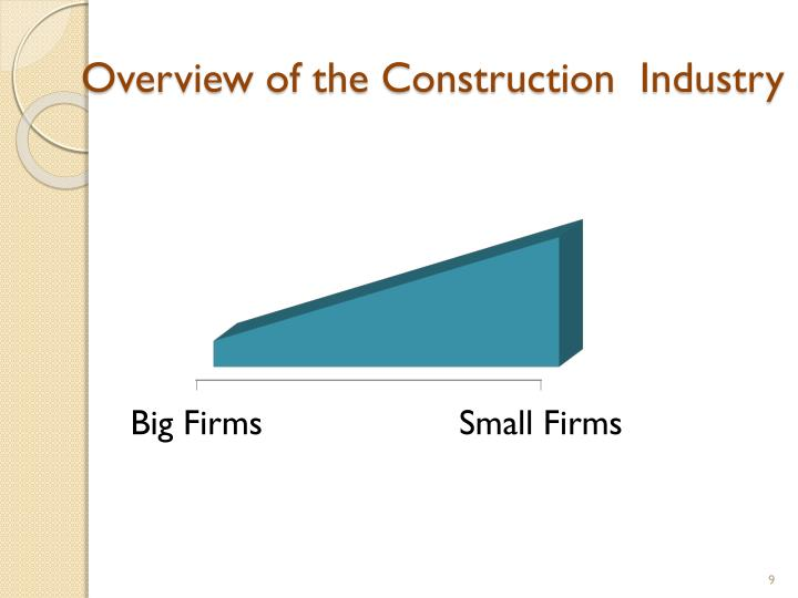 Overview of the Construction  Industry