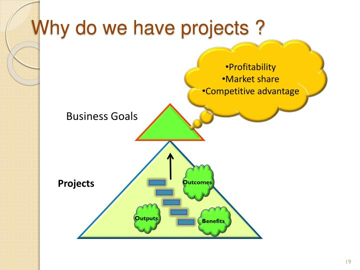 Why do we have projects ?