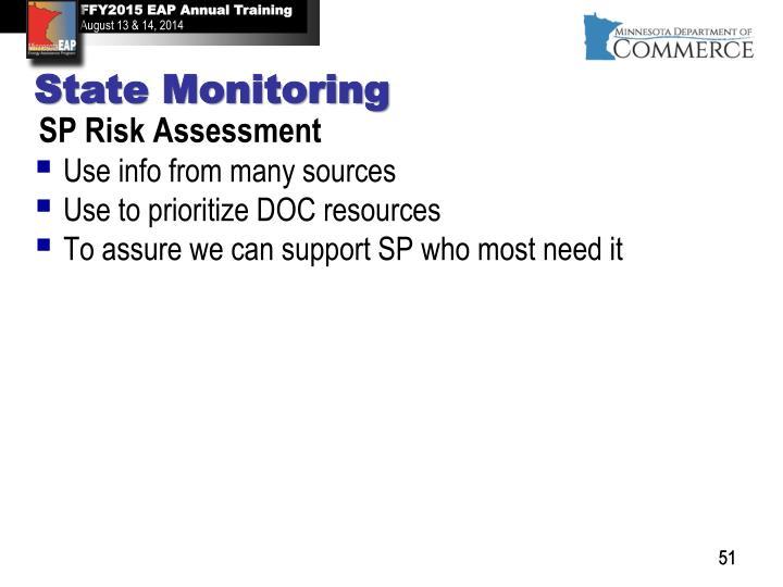 SP Risk Assessment