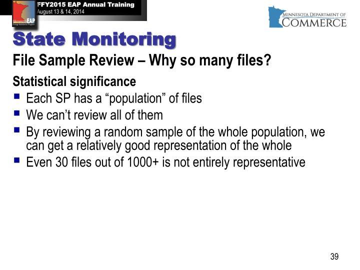 State Monitoring