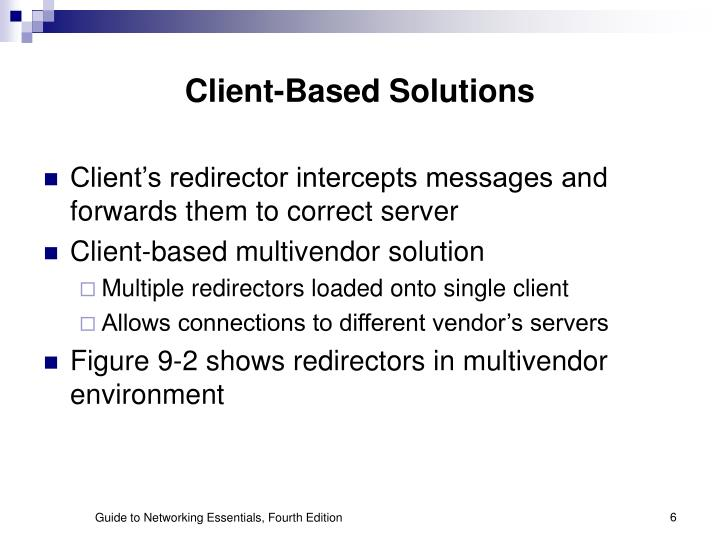 Client-Based Solutions