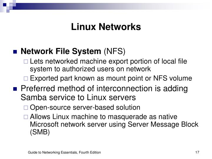 Linux Networks
