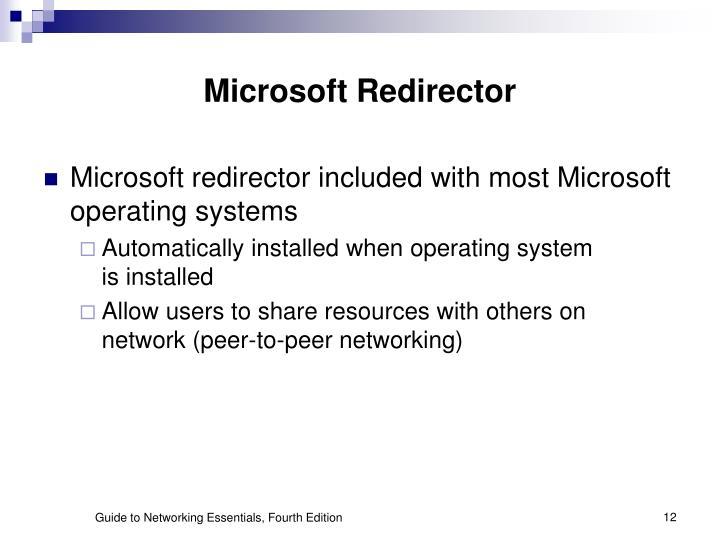 Microsoft Redirector