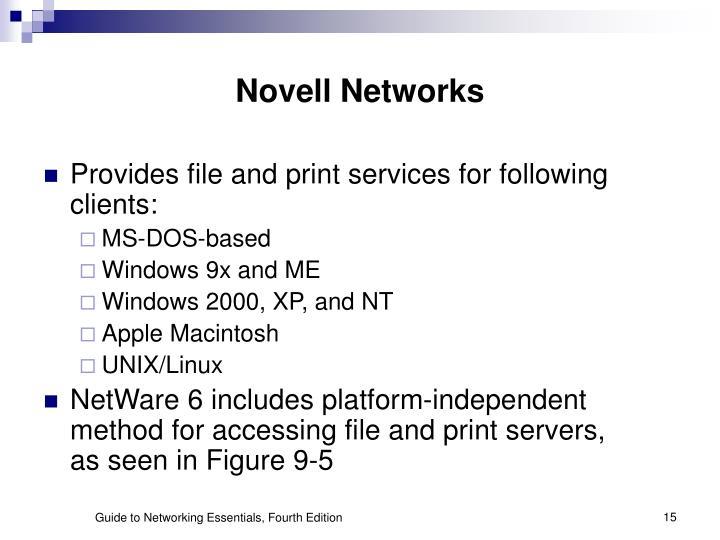 Novell Networks