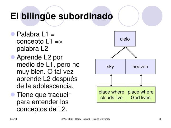 El biling