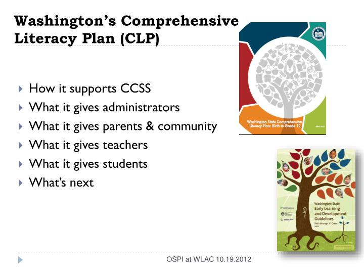 Washington's Comprehensive