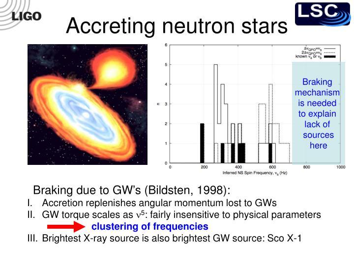 Accreting neutron stars