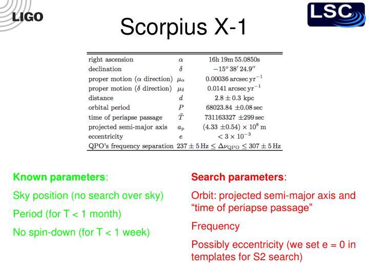 Scorpius X-1