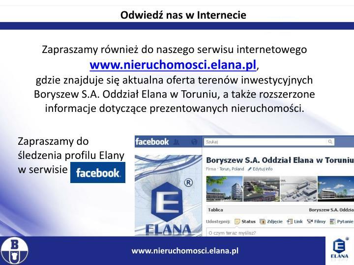 Odwiedź nas w Internecie