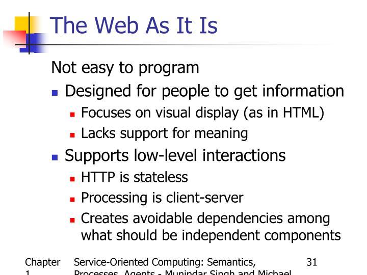 Service-Oriented Computing: Semantics, Processes, Agents - Munindar Singh and Michael Huhns
