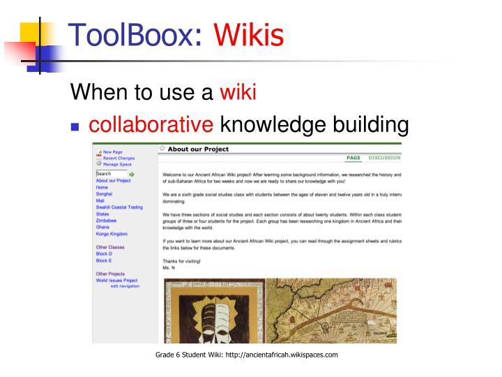 ToolBoox:
