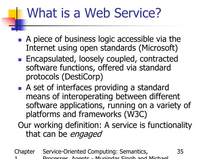 Service-Oriented Computing: Semantics, Processes, Agents - Munindar Singh and Michael Huhns
