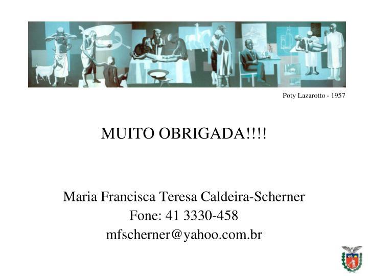 MUITO OBRIGADA!!!!