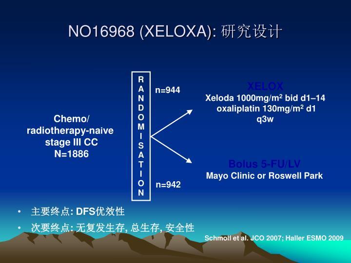 NO16968 (XELOXA):