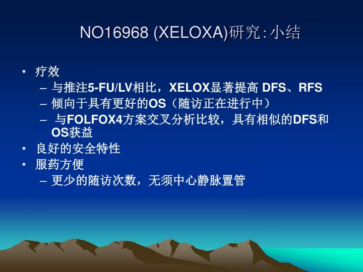 NO16968 (XELOXA)
