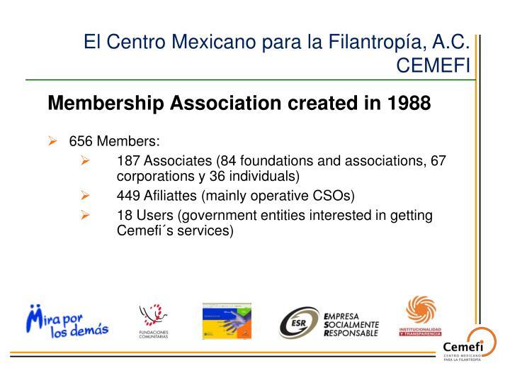 El Centro Mexicano para la Filantropía, A.C.   CEMEFI