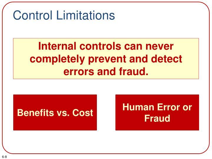 Control Limitations