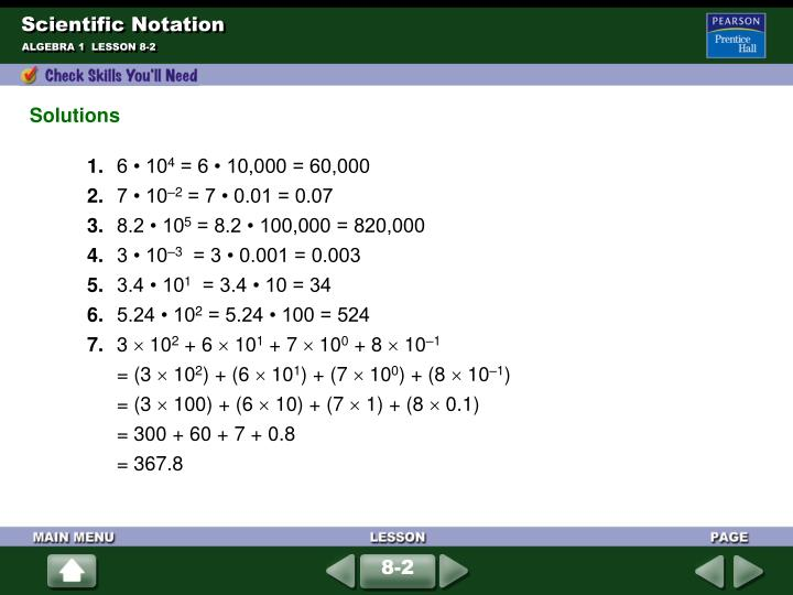 Scientific notation1