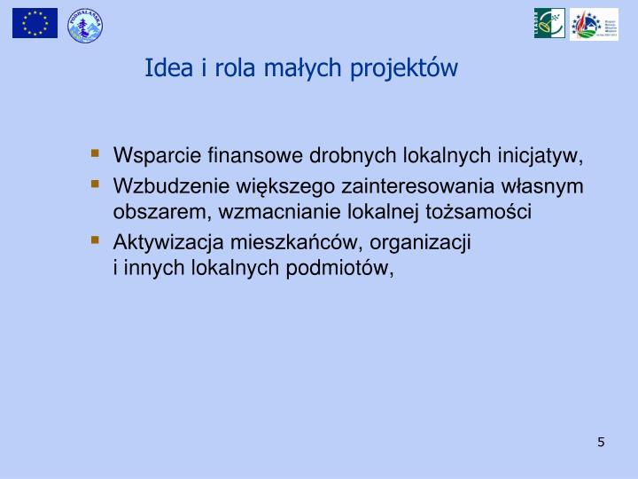Idea i rola małych projektów