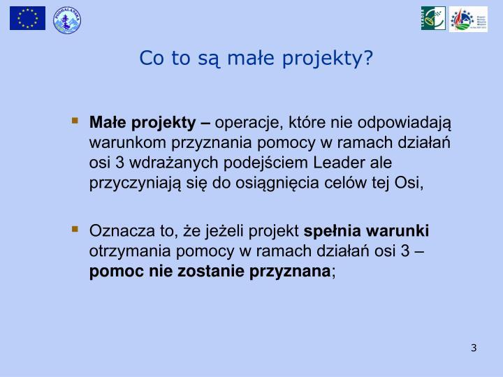 Małe projekty –