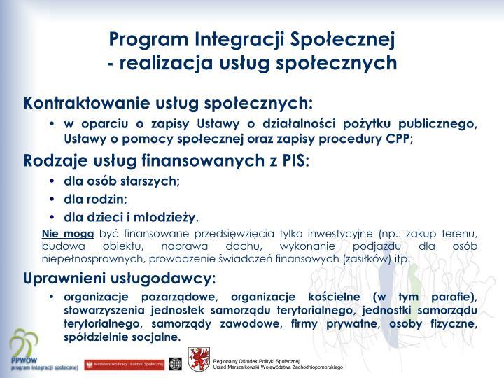 Program Integracji Społecznej
