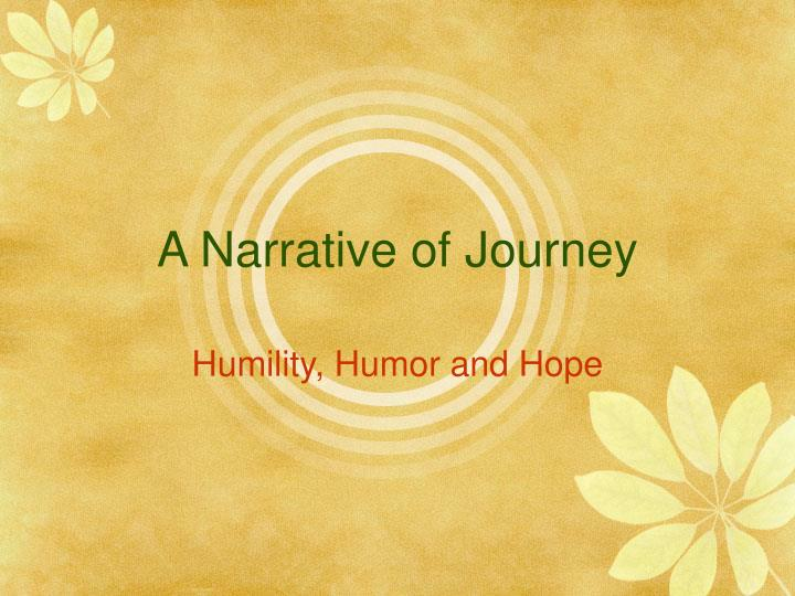 narrative of journey