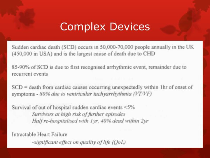 Complex Devices