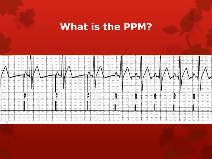 What is the PPM?